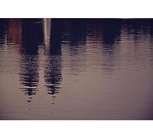 New York reflected Photographic Print