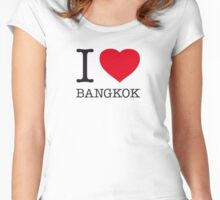 I ♥ BANGKOK Women's Fitted Scoop T-Shirt