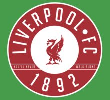 Liverpool FC - 1892 RED One Piece - Short Sleeve