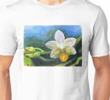 Phalaenopsis Orchid watercolor pencils ACEO Unisex T-Shirt