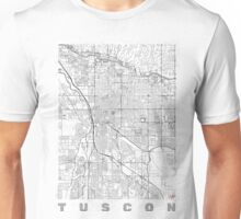 Tuscon Map Line Unisex T-Shirt