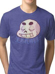 Chill, man Tri-blend T-Shirt