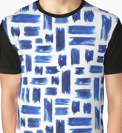 Grungy brushstrokes Graphic T-Shirt