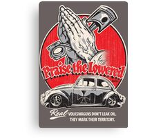 Praise The Lowered Beetle Canvas Print