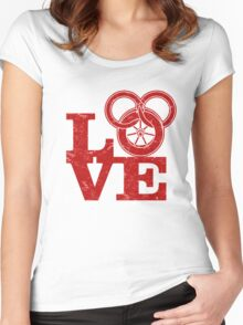 Love Wheel Of Time! Women's Fitted Scoop T-Shirt