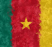 Cameroon Flag Grunge by GrizzlyGaz