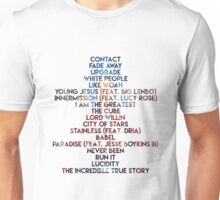 The Incredible True Story Tracklist Unisex T-Shirt