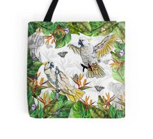 Drawing Paradise Collection- Cockatoos Tote Bag