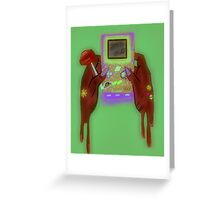 Video Games V2 Greeting Card