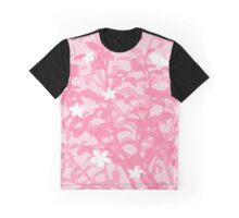 Floral Pink Style Graphic T-Shirt