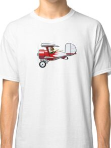 Cartoon Biplane Classic T-Shirt