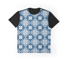 Abstract Pattern Style Graphic T-Shirt
