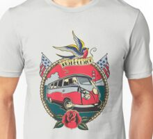 Rust N Custom Tatoo splitty Unisex T-Shirt