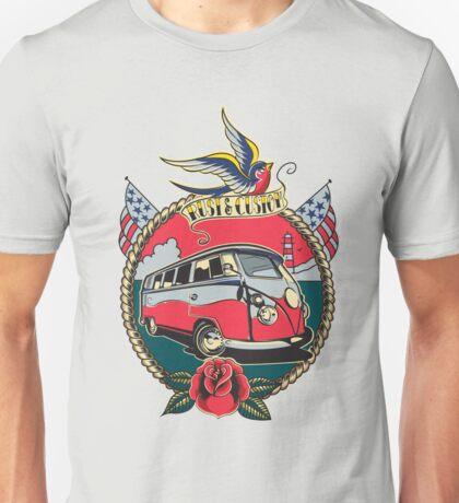 Rust N Custom Tatoo splitty Unisex T-Shirt