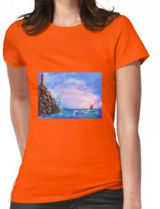 Sea stories 2 Womens Fitted T-Shirt