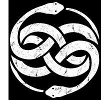 The NeverEnding Story Symbol Vintage Photographic Print