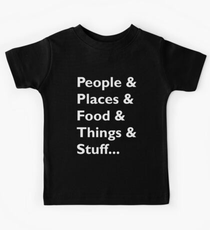 Everything Helvetica Hipster Kids Tee