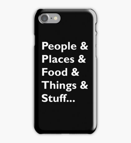 Everything Helvetica Hipster iPhone Case/Skin