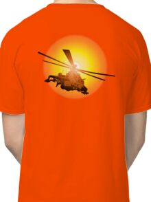 Cartoon strike helicopter Classic T-Shirt