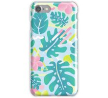Tropical summer pattern iPhone Case/Skin