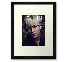 Epic Taemin Portrait Framed Print