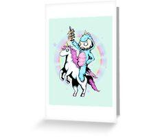 LVB Majestic Steed Greeting Card