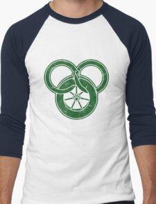 Wheel Of Time Symbol Vintage Men's Baseball ¾ T-Shirt