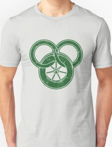 Wheel Of Time Symbol Vintage Unisex T-Shirt