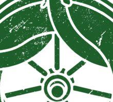 Wheel Of Time Symbol Vintage Sticker