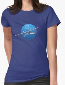 Retro hydroplane 30-40s Womens Fitted T-Shirt