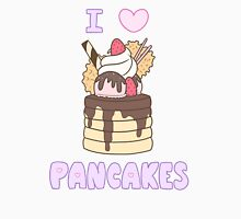 I Heart Pancakes - Cute Kawaii Dessert Design Unisex T-Shirt