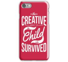 CREATIVE ADULT iPhone Case/Skin