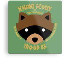 Khaki Scouts of North America Metal Print