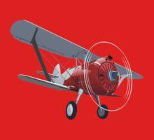 Retro biplane Kids Tee