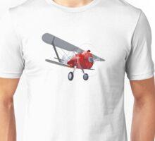 Retro biplane Unisex T-Shirt