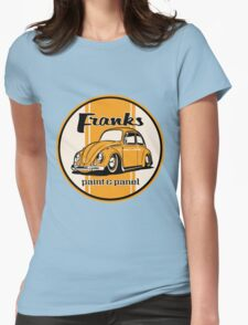 Franks Paint & Panel Womens Fitted T-Shirt