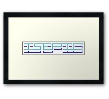 ISEPIC Framed Print
