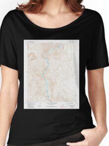 USGS TOPO Map Arizona AZ Willow Beach 314128 1959 24000 Women's Relaxed Fit T-Shirt