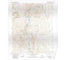USGS TOPO Map Arizona AZ Willow Beach 314128 1959 24000 Poster