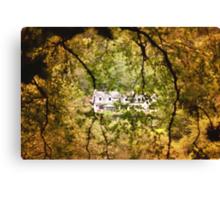 Ireland, little house Canvas Print