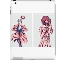 Doctor Who - Super Twelve and Pearl iPad Case/Skin