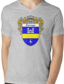 Sarraga Coat of Arms/Family Crest Mens V-Neck T-Shirt
