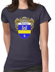 Sarraga Coat of Arms/Family Crest Womens Fitted T-Shirt