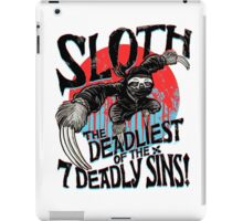Sloth The Deadliest of the Seven Deadly Sins iPad Case/Skin