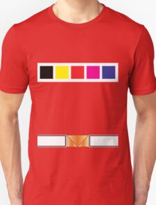 PRiS Red Ranger Uniform Unisex T-Shirt