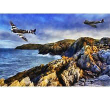 Spitfires On The Coast Photographic Print
