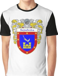 Sepulveda Coat of Arms/Family Crest Graphic T-Shirt