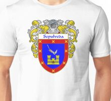 Sepulveda Coat of Arms/Family Crest Unisex T-Shirt