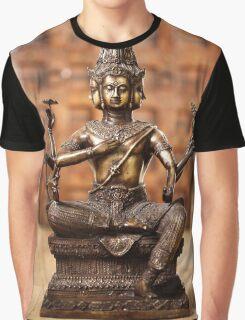 Shiva god statuette Graphic T-Shirt