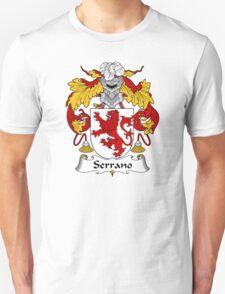 Serrano Coat of Arms/Family Crest Unisex T-Shirt